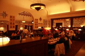 Inside the Brown Derby