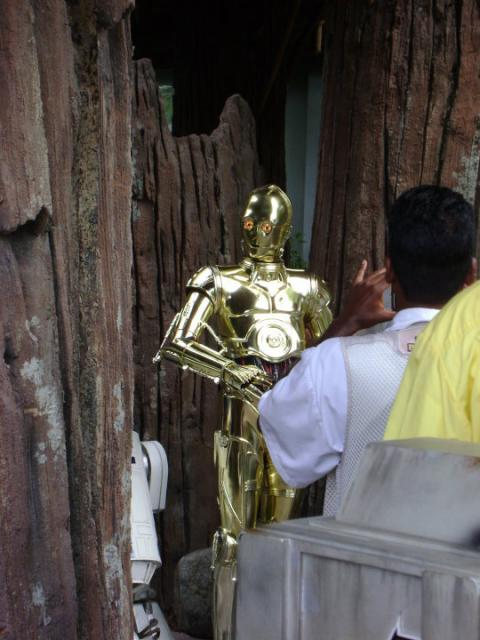 C3P0 meet-n-greet character