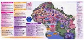 Last map of Disney-MGM Studios