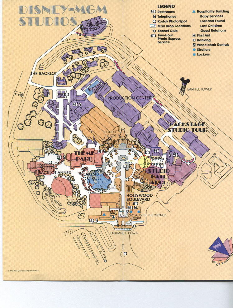 First MGM Studios map (Page 2)
