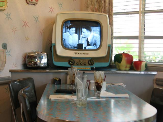 50's Prime Time Cafe Booth