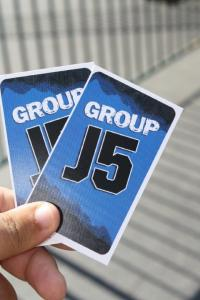 Group pass handed out to standby riders