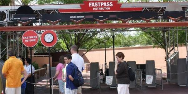 FASTPASS gone for the day
