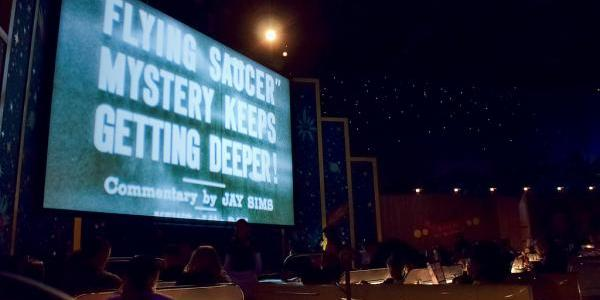 Sci-Fi Dine-In Theater Screen