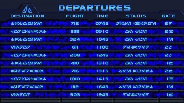 Star Tours 2 Departures