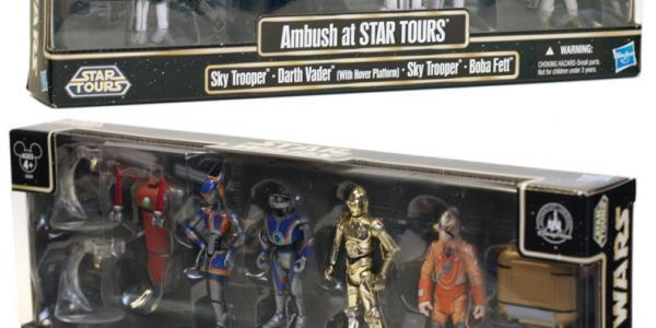 Star Tours 2 Figures