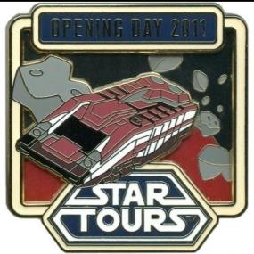 Star Tours 2 Opening Day Pin