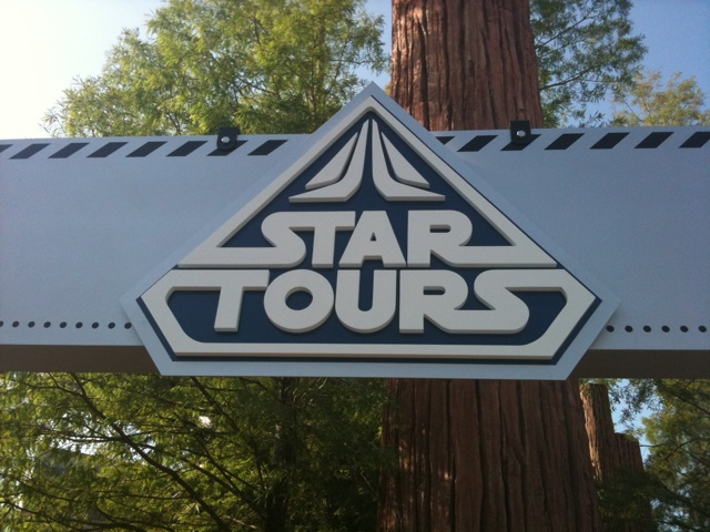 Star Tours 2 Sign