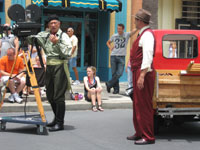 Citizens of Hollywood filming movie